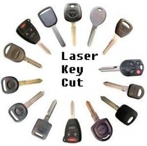 laser key cut